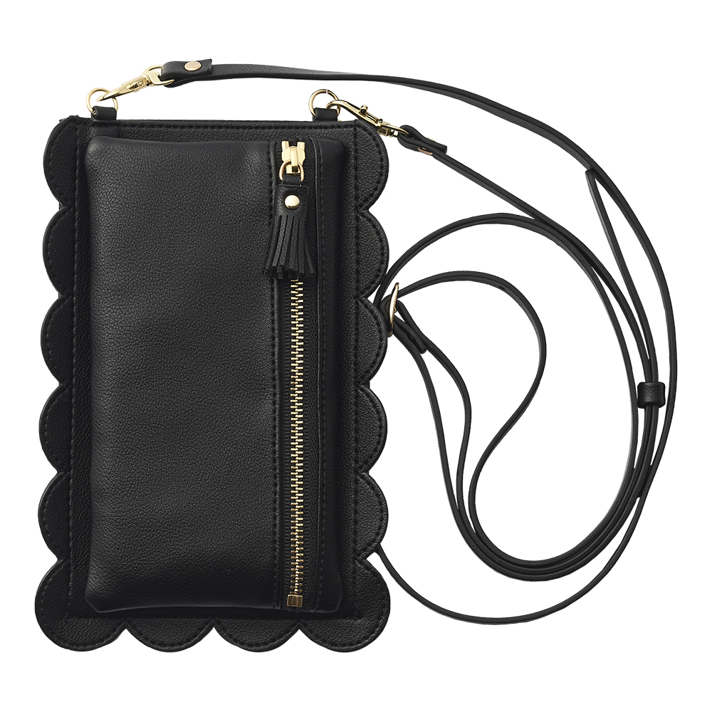 ruffle handy for SmartPhone (black)