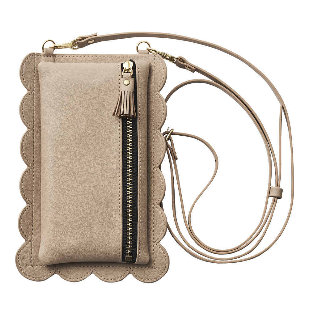 ruffle handy for SmartPhone (beige)